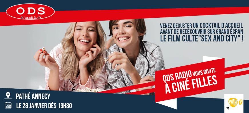 Votre soirée Ciné filles le 28 janvier au Pathé Annecy !