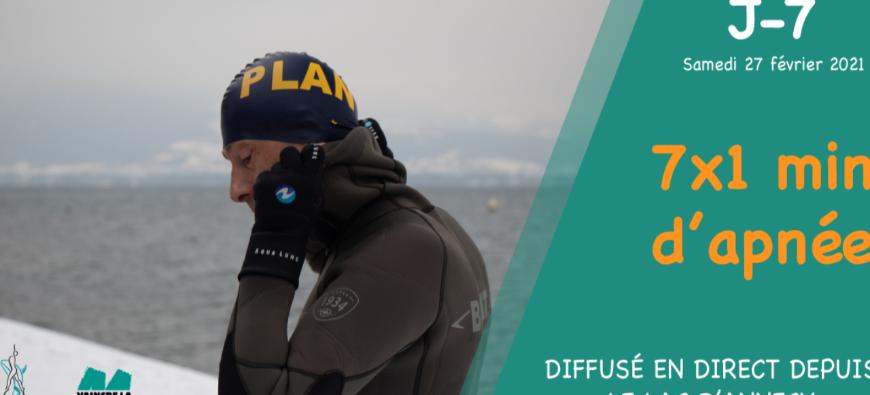 Mucoviscidose : l'Apnée Solid'air relance son défi sportif à Annecy