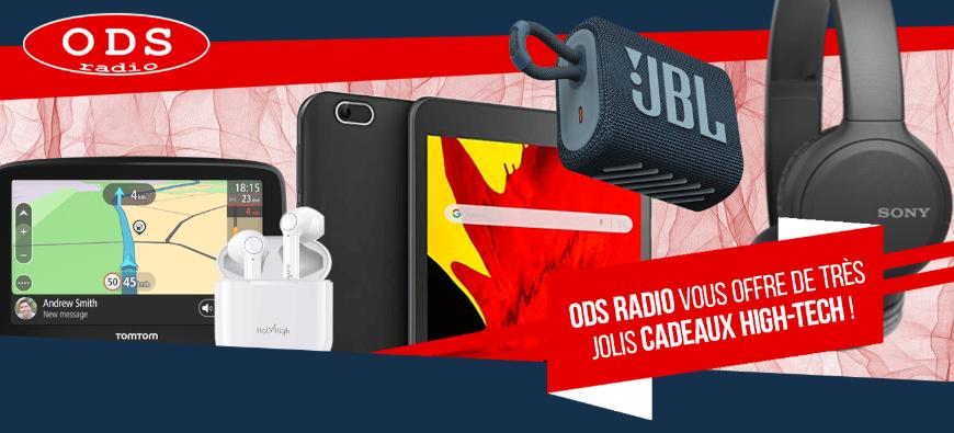 ODS radio vous offre de très jolis cadeaux High-tech !