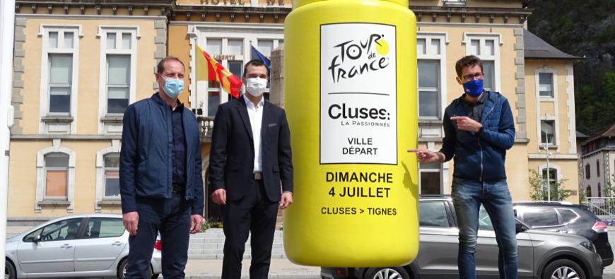 Le Tour de France 2021 se prépare déjà à Cluses