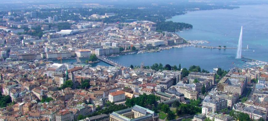 Genève au centre des relations diplomatiques mondiales