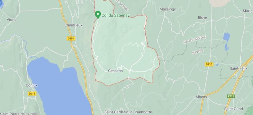 Savoie : un accident de bûcheronnage à Cessens