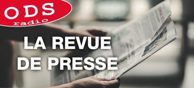 La revue de presse de ce mercredi avec Marion Bienvenot