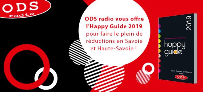 Cette semaine ODS radio vous offre l'Happy Guide 2019 !