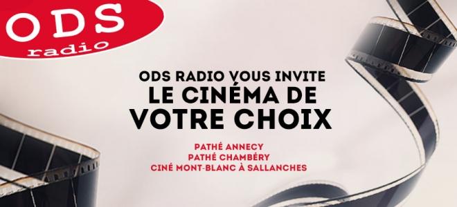 Allez voir le film de votre choix avec ODS radio !