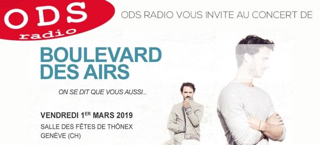 Boulevard Des Airs en concert à Genève !