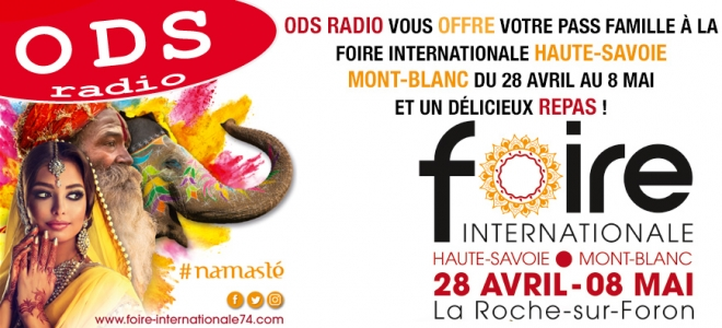 ODS radio vous invite à la foire internationale HS-MB