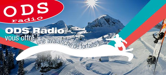 Skiez dans les plus belles stations avec ODS Radio