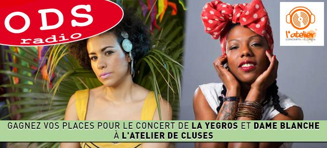 Gagnez vos places pour le concert de Yegros et la Dame Blanche à Cluses!