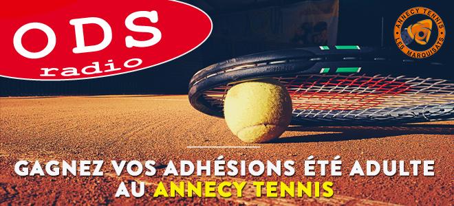 Venez jouer au tennis aux marquisats à Annecy