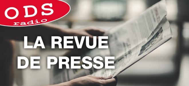 La revue de presse du mercredi 13 décembre Florine Bouvard