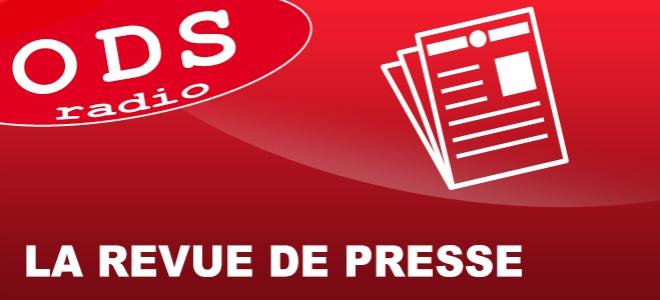 La revue de presse de ce vendredi par Noémie Mabilon