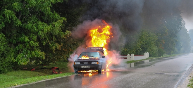Retour des crash-test pédagogiques au lycée en Haute-Savoie